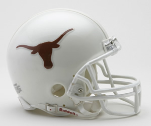 Texas Longhorns Riddell Mini Helmet